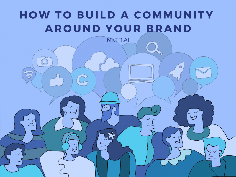 Cover illustration for brand community article